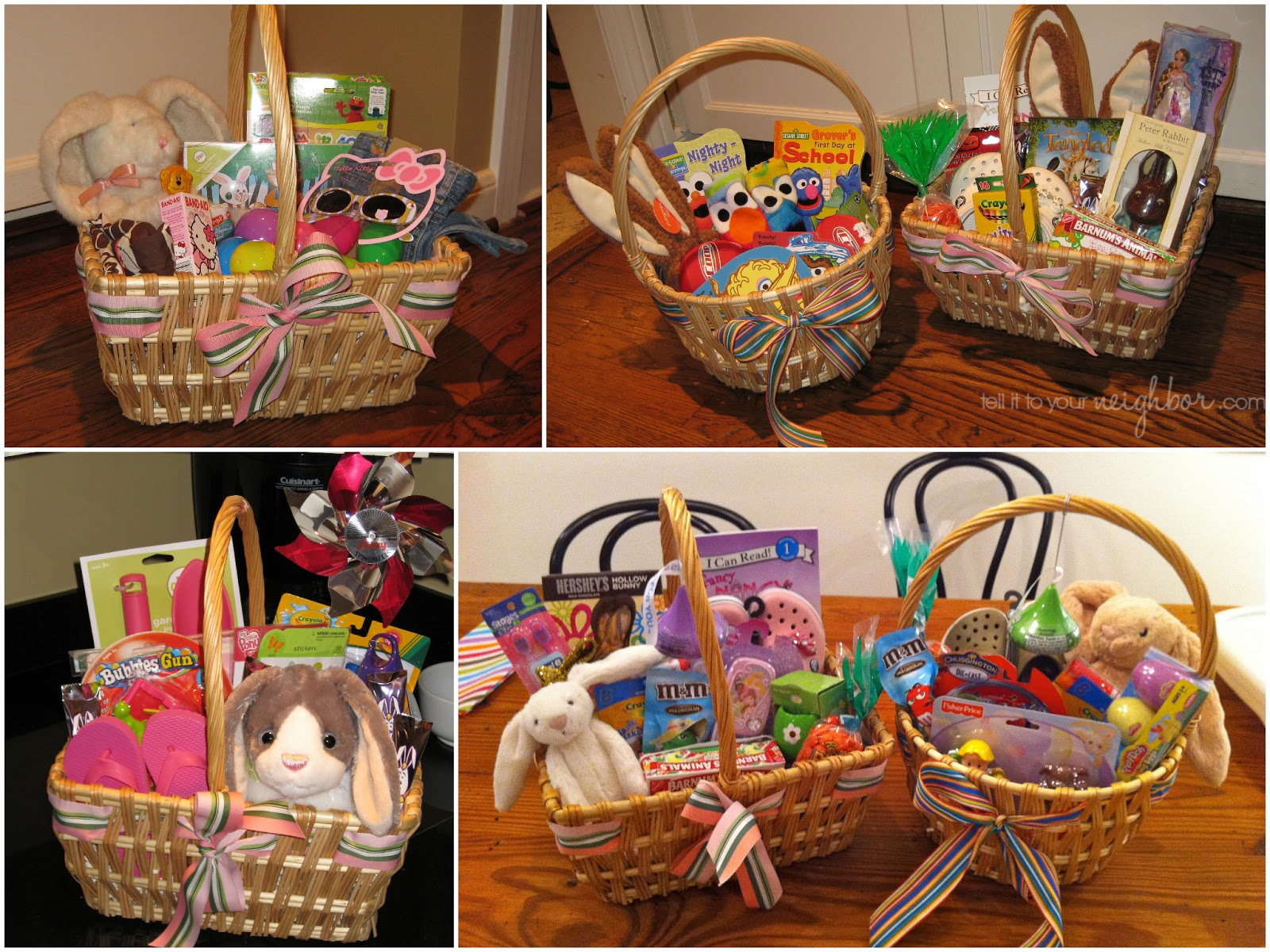An easter basket for the years tell it to your neighbor easter basket ideas negle Image collections