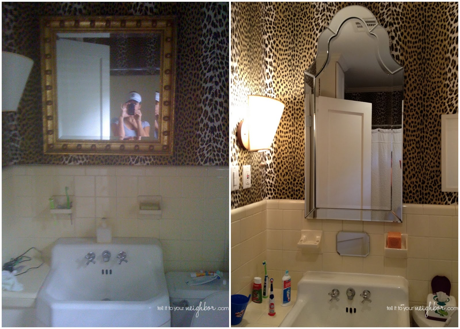 d7d91d73515 Mirrors archives tell it to your neighbor jpg 1600x1143 Leopard trim mirror