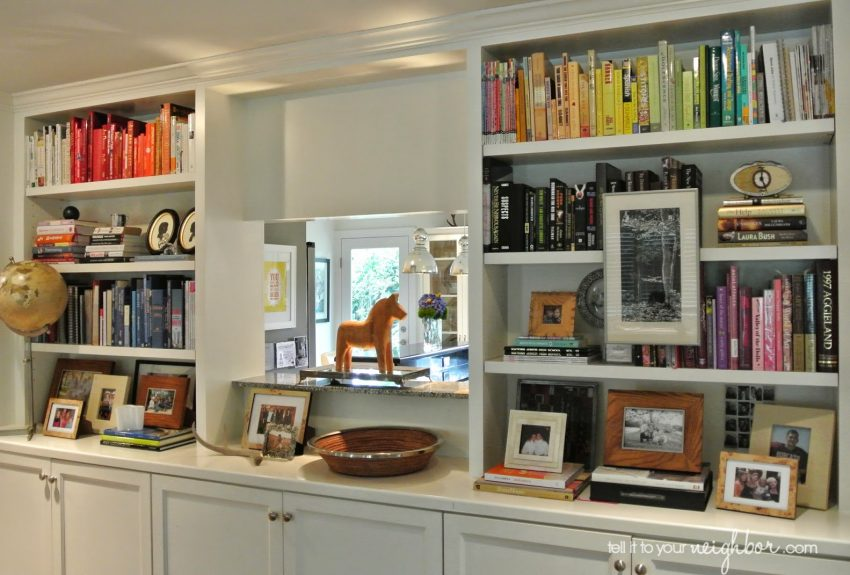 10 Steps to Easy (and Fun!) Bookcase Styling