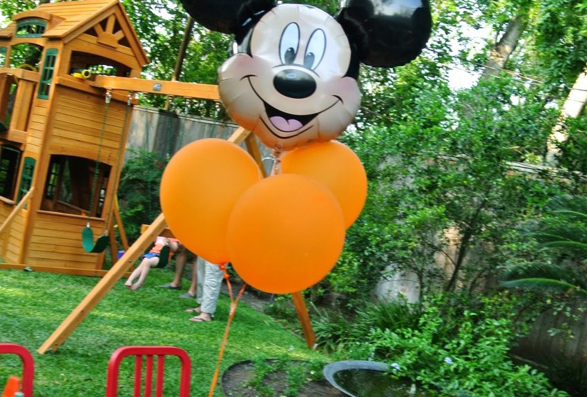 Mickey Mouse Orange Party