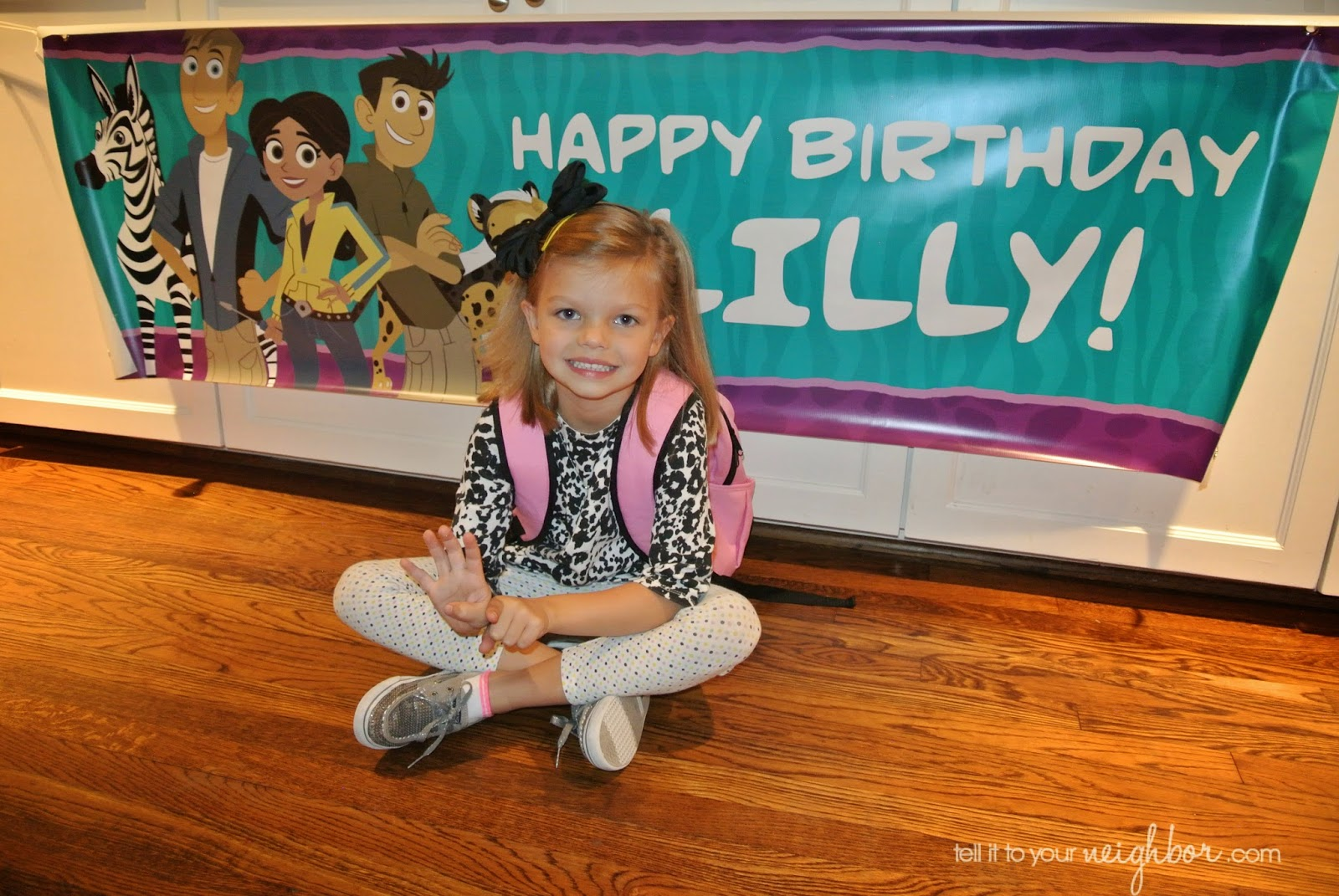 Wild Kratts Birthday Party For A Girl Tell It To Your Neighbor