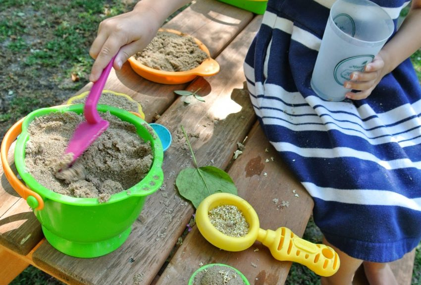 Big Kid's Sand and Water Table + Update