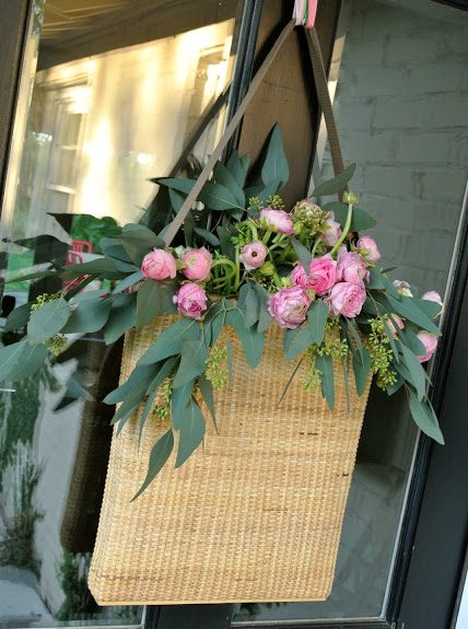 Fresh Flowers for the Door